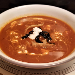 My Slice of Mexico Sopa Tarasca, Mexican corn, beef, tomato soup, food photography
